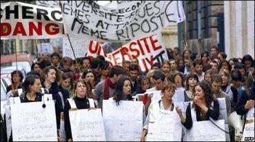 StudentProtestFrance