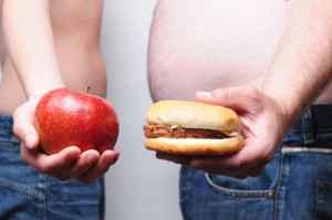 Manzana o hamburguesa