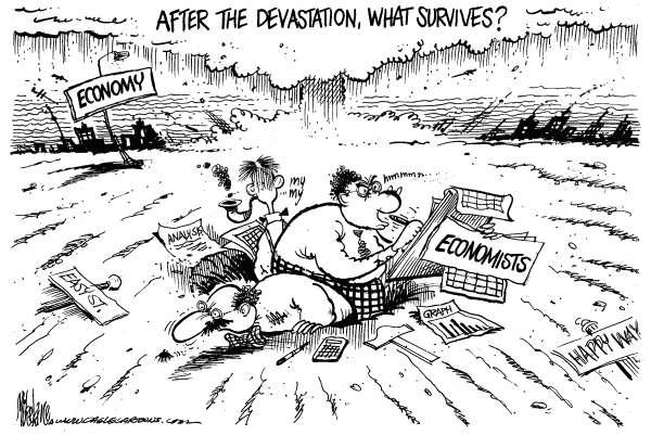 Economistas sobreviven